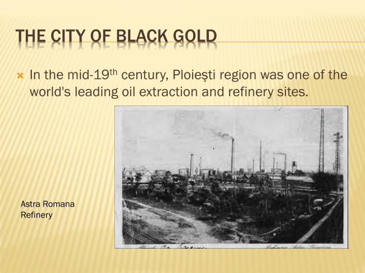 The City of Black Gold