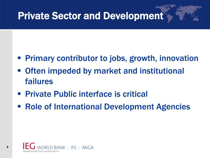 Private sector and development