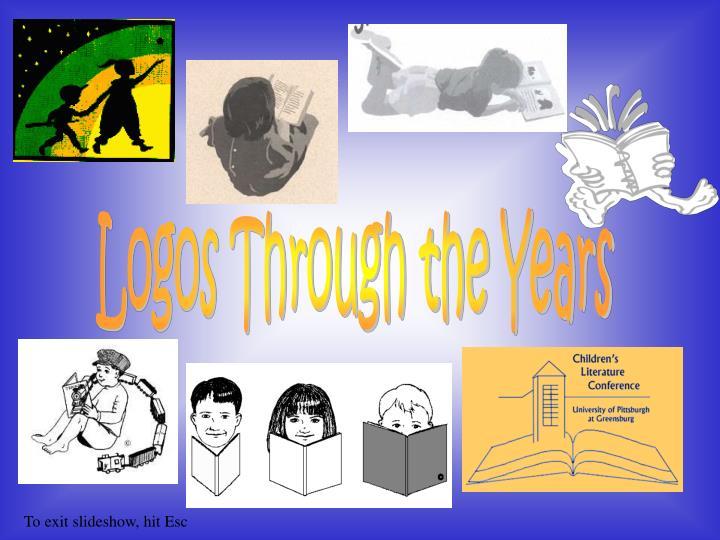 Logos Through the Years