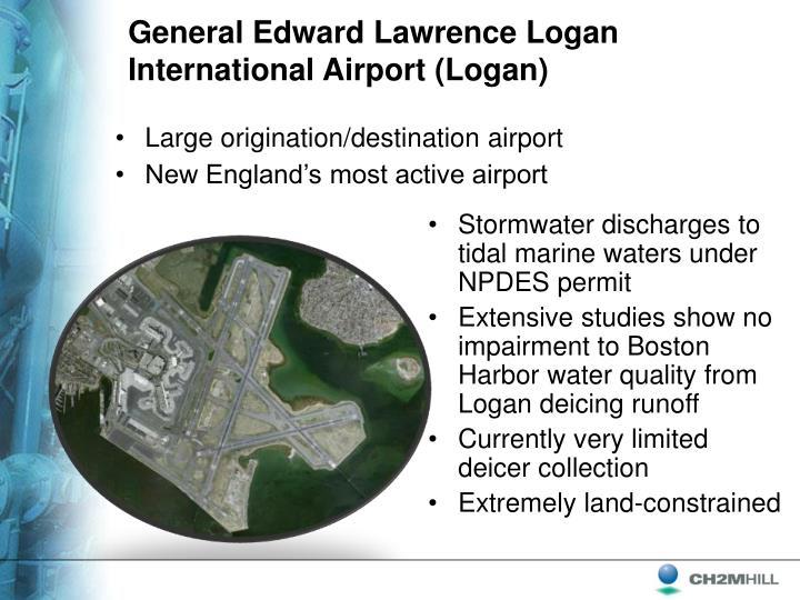 General Edward Lawrence Logan International Airport (Logan)