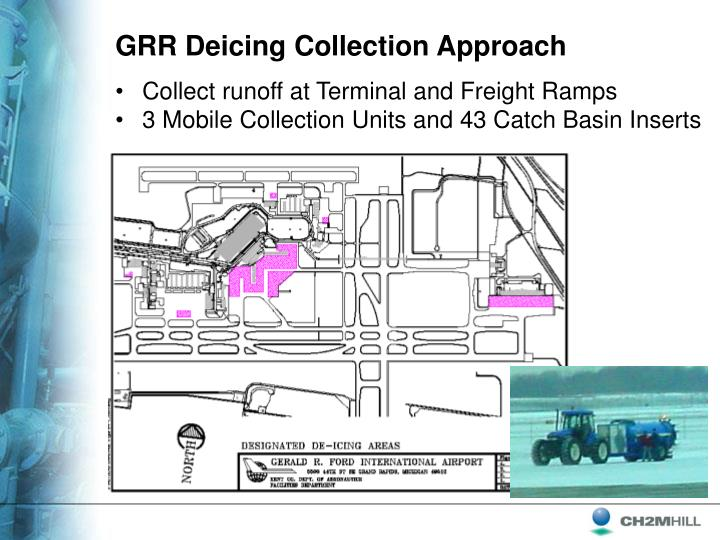 GRR Deicing Collection Approach
