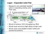 logan expanded juliet pad