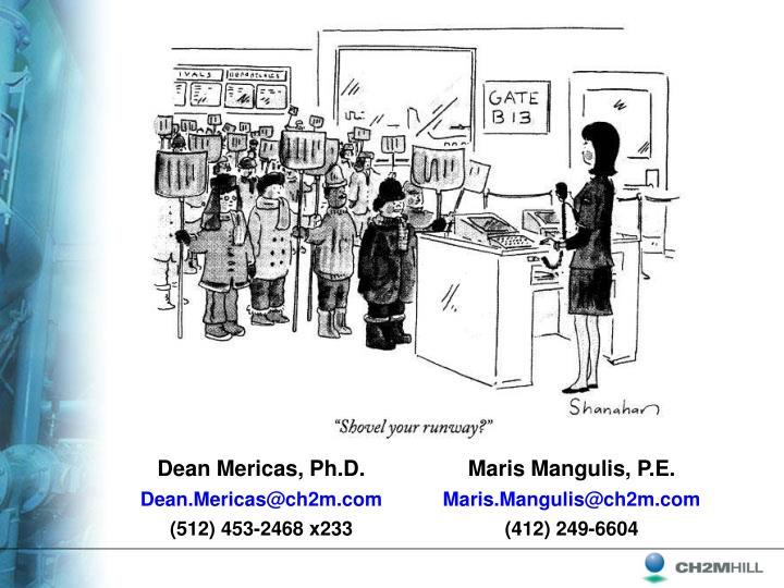 Dean Mericas, Ph.D.
