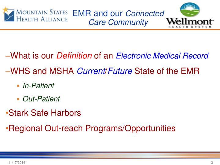 EMR and our