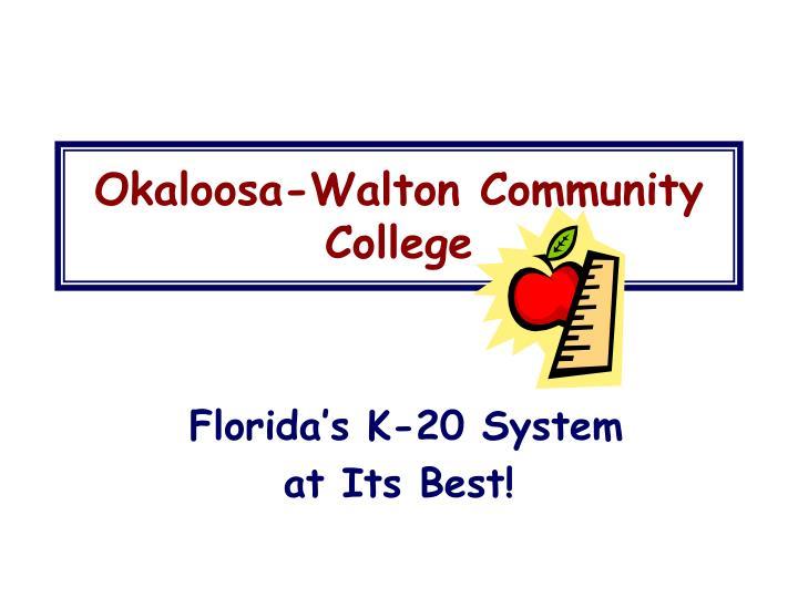 Okaloosa-Walton Community College