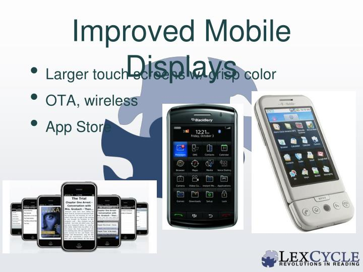 Improved Mobile Displays