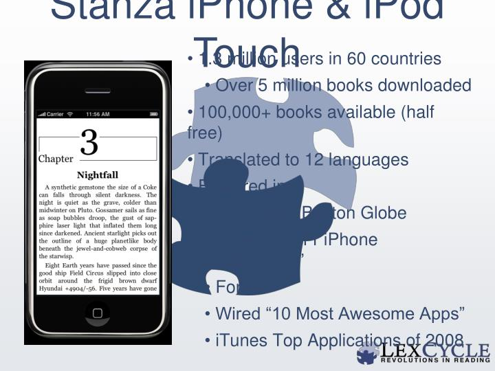 Stanza iPhone & iPod Touch