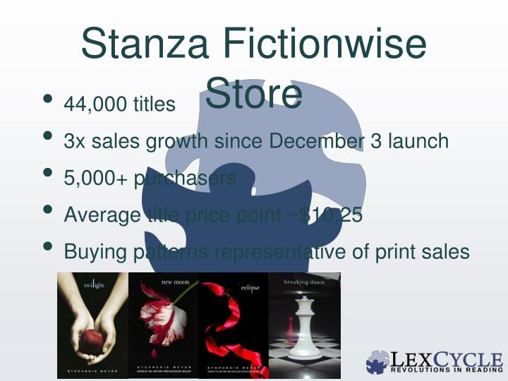 Stanza Fictionwise Store