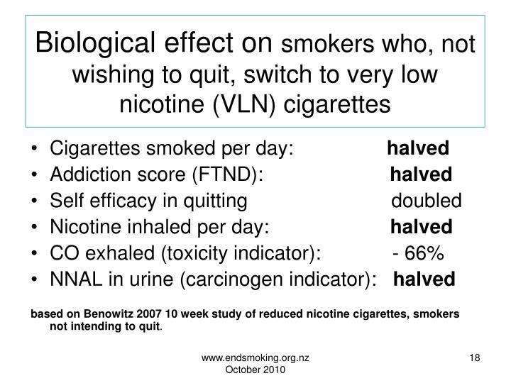 Biological effect on