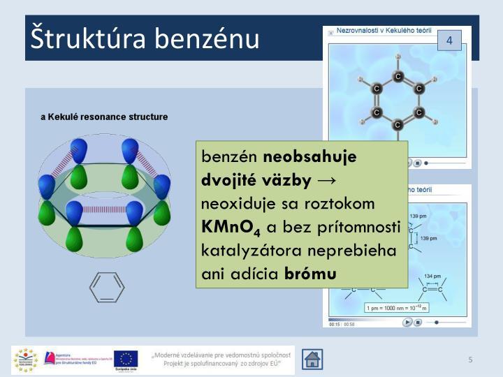 Štruktúra benzénu