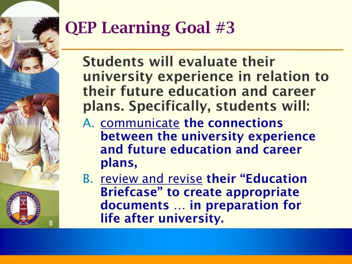 QEP Learning Goal #3