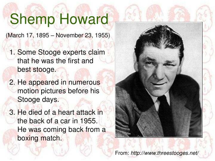 Shemp Howard