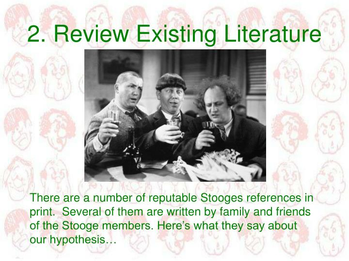 2. Review Existing Literature
