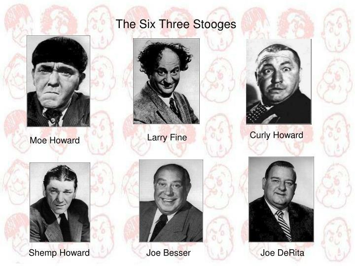 The Six Three Stooges