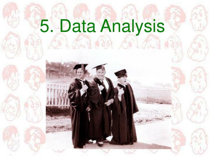 5. Data Analysis