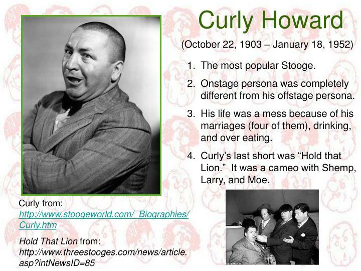Curly Howard