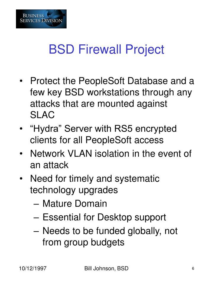 BSD Firewall Project