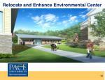 relocate and enhance environmental center