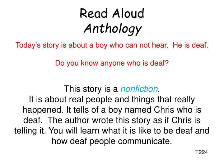 Read Aloud