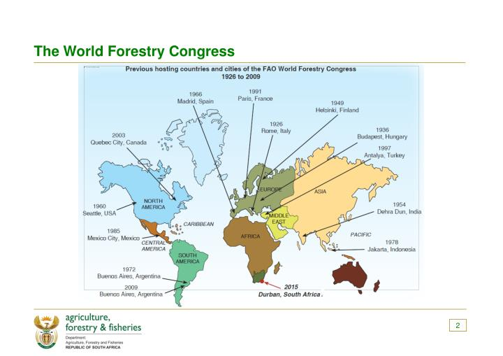 The World Forestry Congress