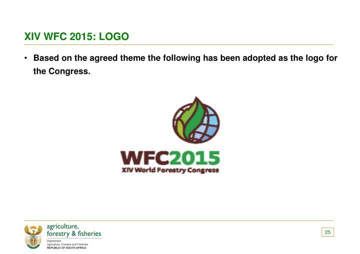 XIV WFC 2015: LOGO