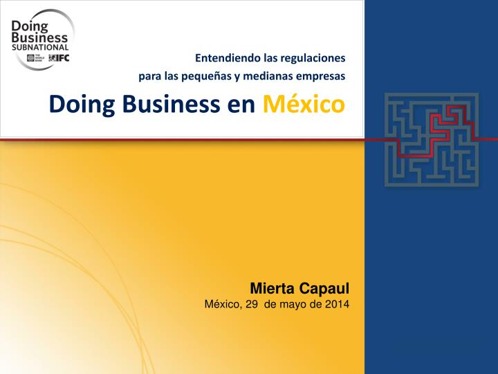 Doing business en m xico