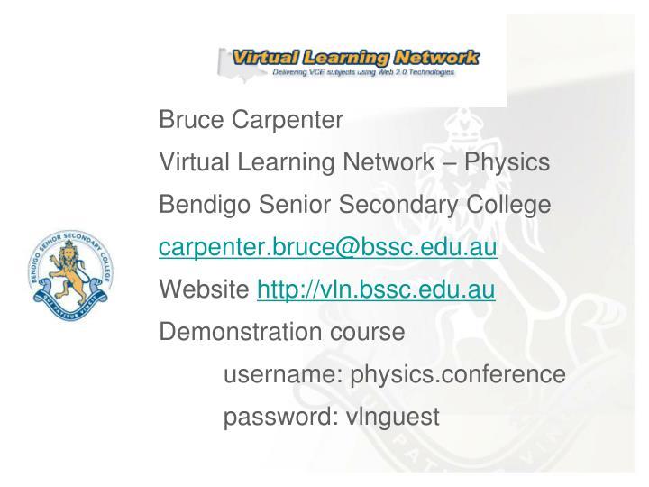 Bruce Carpenter