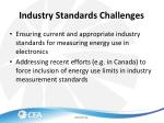 industry standards challenges