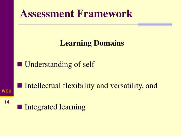 Assessment Framework