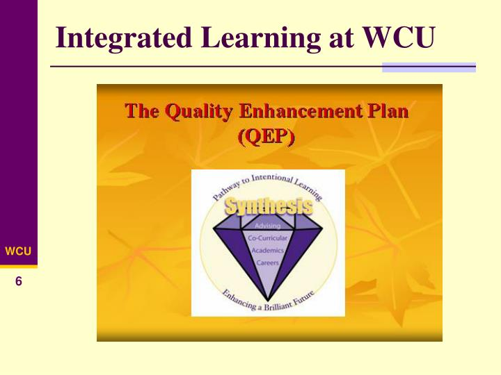Integrated Learning at WCU