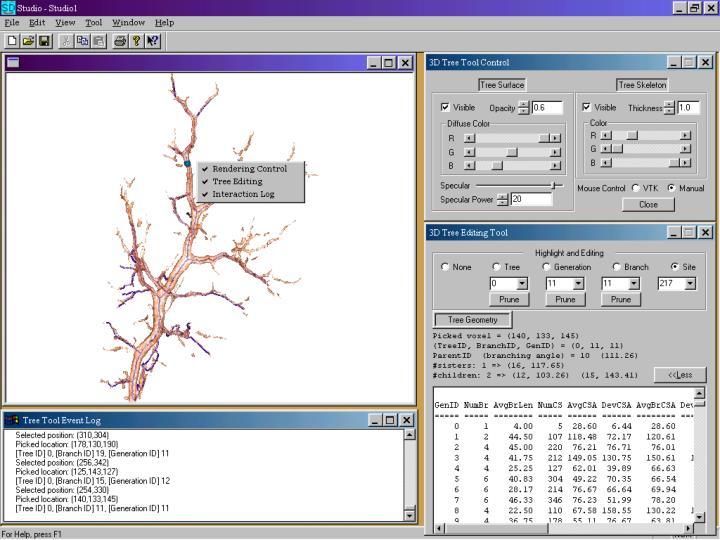 3D Tree Tool