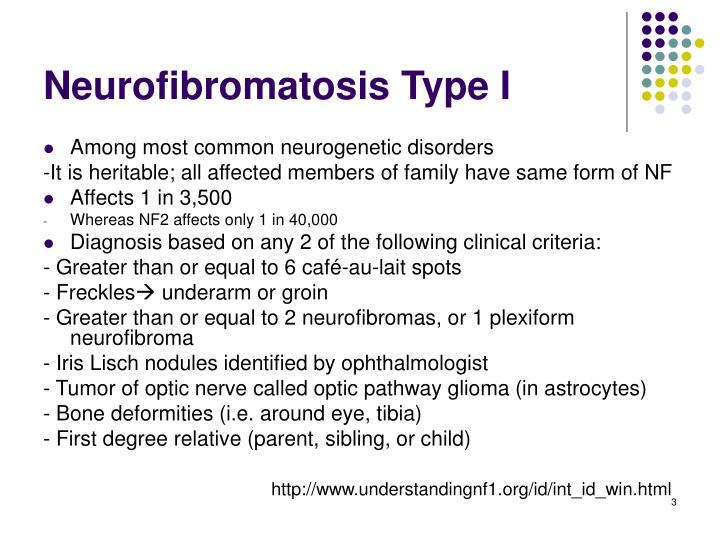 Neurofibromatosis Type I