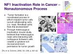nf1 inactivation role in cancer nonautonomous process1