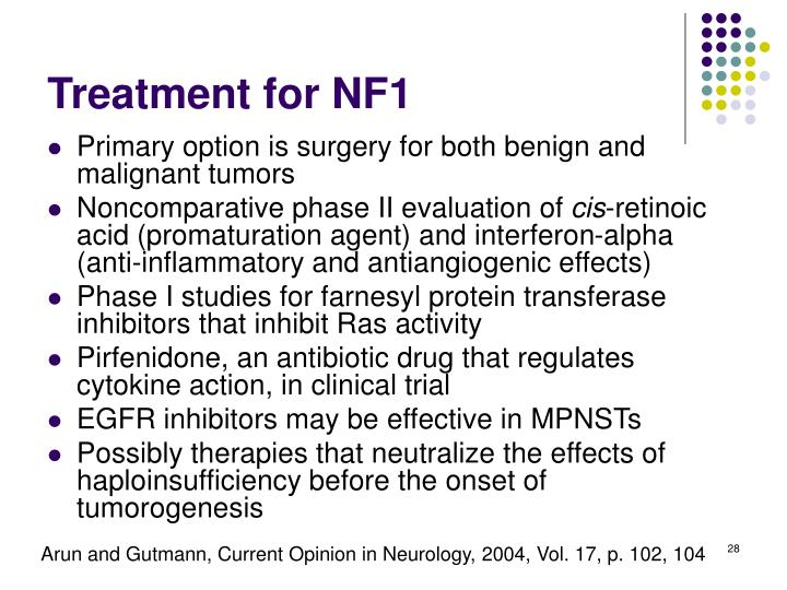Treatment for NF1
