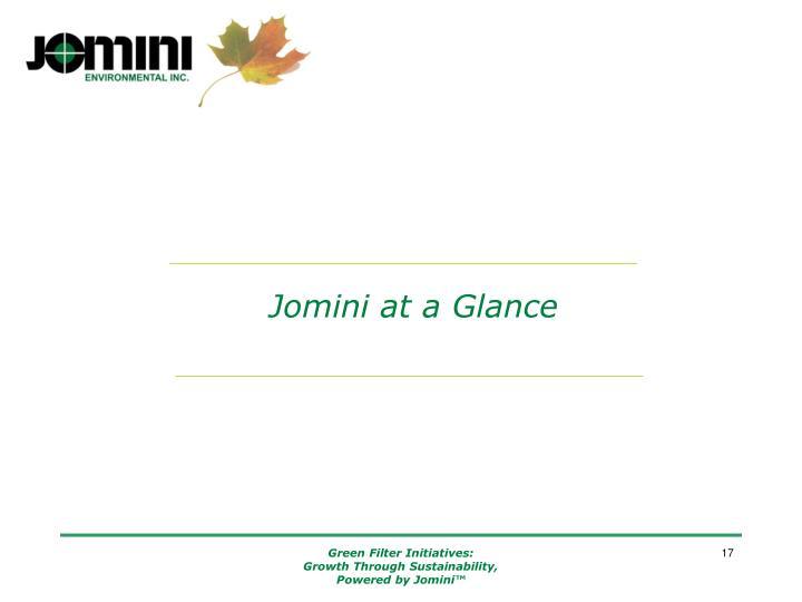 Jomini at a Glance