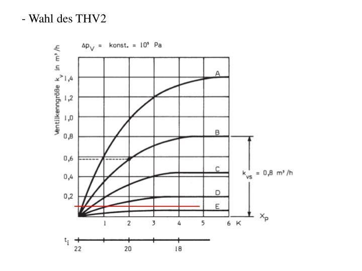 Wahl des THV2
