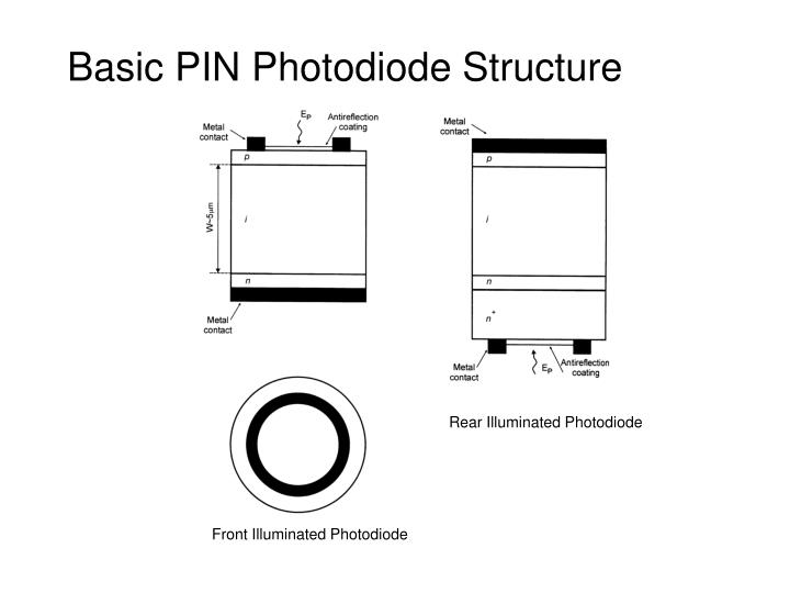 Basic PIN Photodiode Structure