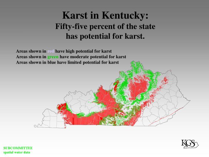 Karst in Kentucky: