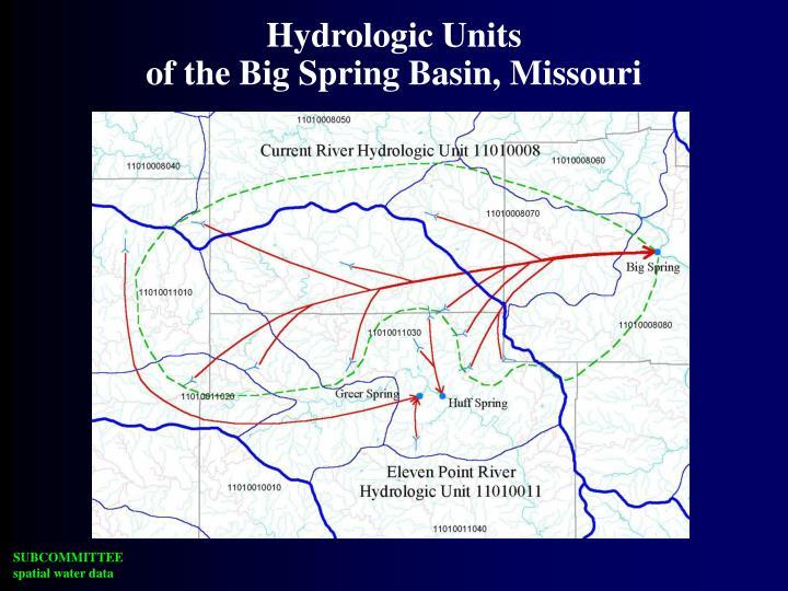 Hydrologic Units
