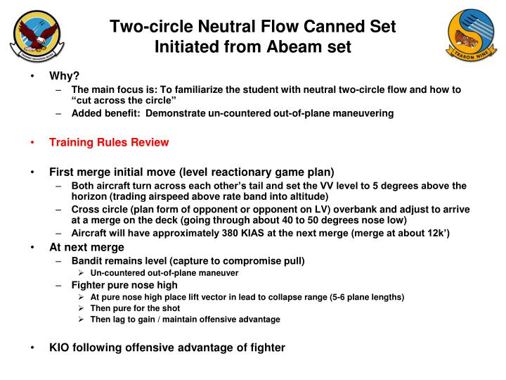 Two-circle Neutral Flow Canned Set