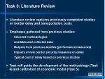 task 3 literature review