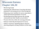 wisconsin statutes chapter 106 301