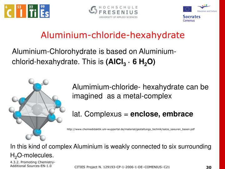 Aluminium-chloride-hexahydrate