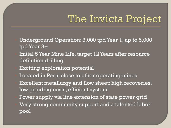 The Invicta Project