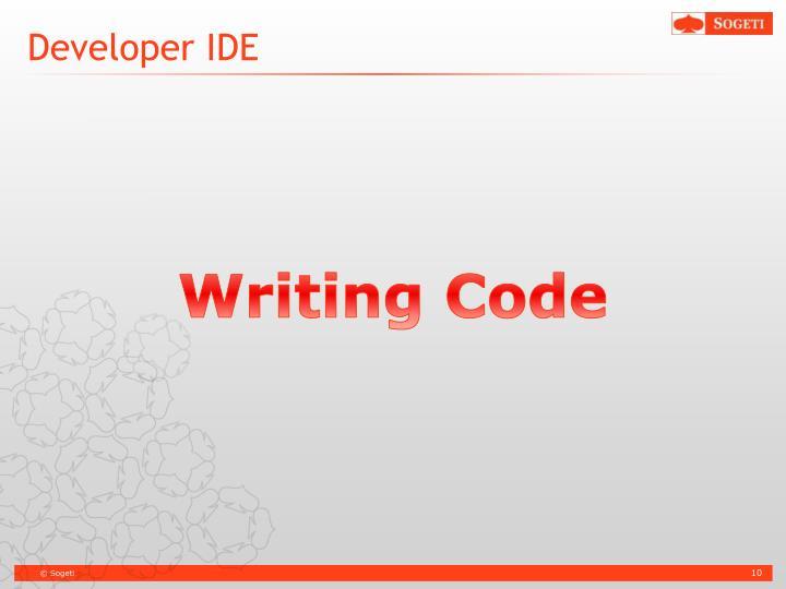 Developer IDE