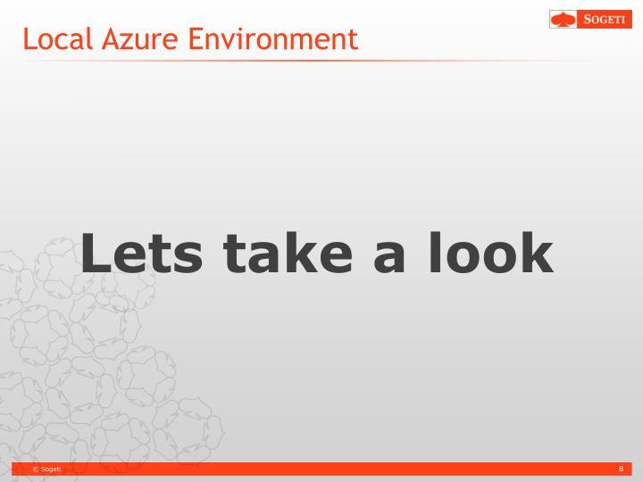 Local Azure Environment
