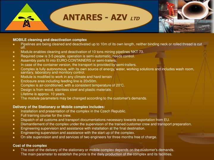 ANTARES - AZV
