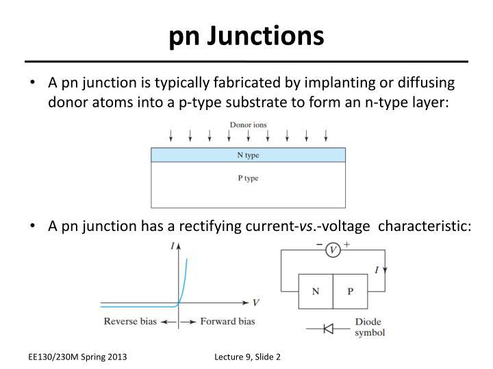 pn Junctions