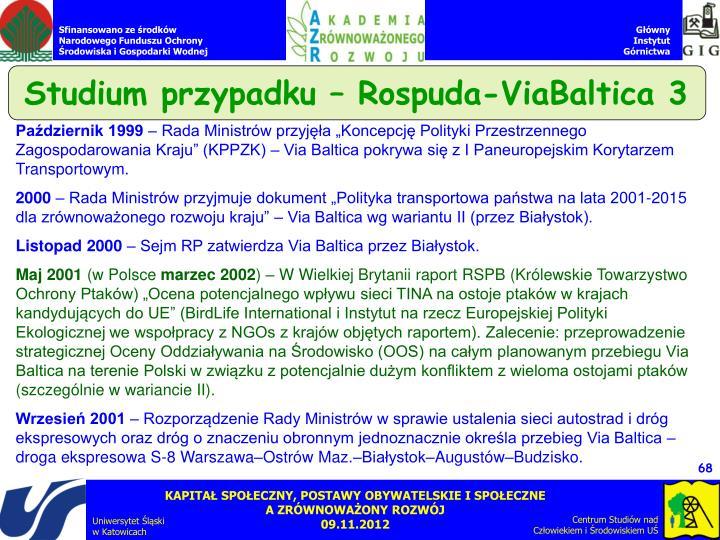 Studium przypadku – Rospuda-ViaBaltica 3