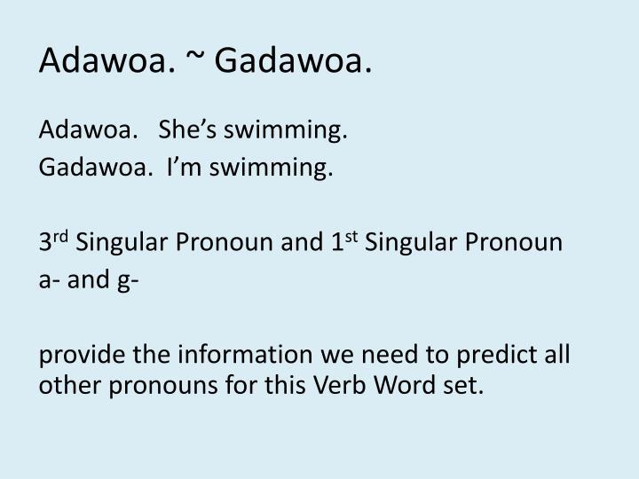 Adawoa